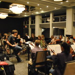 Rehearsal for the Carnegie Hall performance