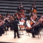 Chase conducting at Carnegie Hall